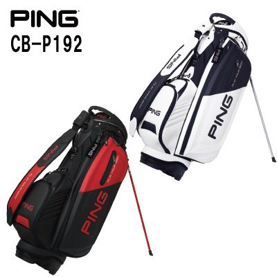 PING ピンゴルフCB-P192メンズ キャディバッグ キャディバック カートバッグ カートバック 【日本正規品】