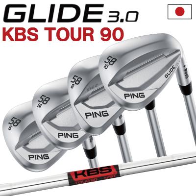 ポイント10倍 PING 販売実績NO.1 PING ピン ゴルフ GLIDE 3.0 グライド 3.0 ウェッジ KBS TOUR 90右用 左用(レフティー)あり 日本仕様 ゴルフクラブ 右利き 左利き 2019年モデル