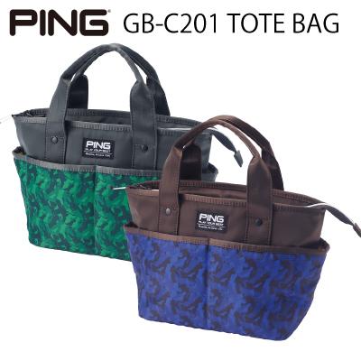 PING ピンゴルフGB-C201 TOTE BAGトートバッグ トートバック バッグ【日本正規品】