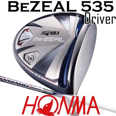 上品な HONMA GOLF ホンマゴルフ Be ZEAL ホンマゴルフ 535 535 ビジール535 ドライバー ZEAL VIZARD for Be ZEALシャフトホンマゴルフ, フジノミヤシ:781b74b9 --- projetoreservado.com