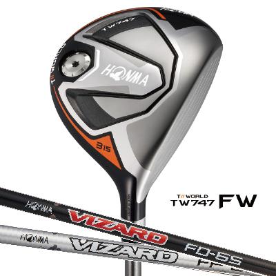HONMA GOLF ホンマゴルフ Tour World ツアーワールド TW747-FWフェアウェイウッド VIZARD FP VIZARD FD シャフトホンマゴルフ
