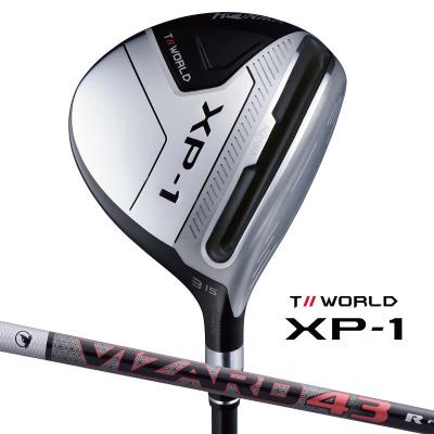 HONMA GOLF ホンマゴルフ 本間ゴルフ T//WORLD XP-1 FW  フェアウェイウッド fw VIZARD 43ホンマゴルフ