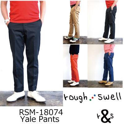 ラフ&スウェル ゴルフ ストライプパンツ パンツ  スラックス ボトムス RSM-18074 Yale Pants ラフアンドスウェル rough & swell golf2018年 春夏モデル