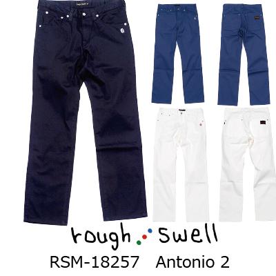 ラフ&スウェル ゴルフ 5ポケット パンツRSM-18257 Antonio 2ラフアンドスウェル rough & swell golf2018年 秋冬モデル