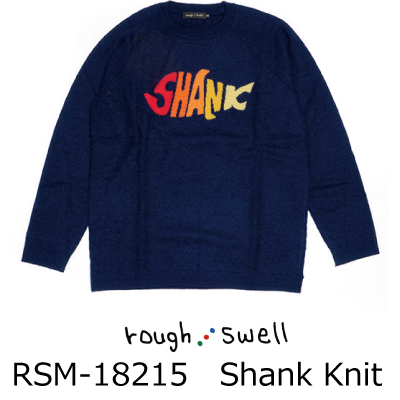 ラフ&スウェル ゴルフ セーターRSM-18215 Shank Knit ラフアンドスウェル rough & swell golf