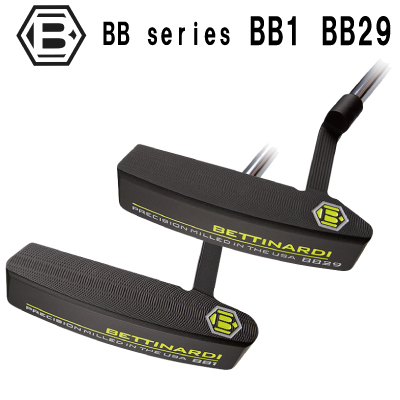 【BETTINARDI】ベティナルディ BB1 BB29 パター 【BB シリーズ】【日本正規品】ヘッドカバーグリップもチョイス
