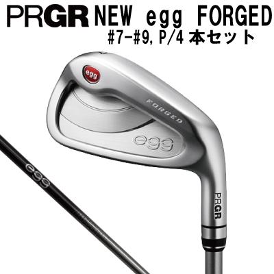 プロギア PRGR ゴルフ 2019 NEW egg FORGED アイアン フォージド N.S.PRO 950GH neo #7-#9,P/4本 アイアンセット 強く、やさしく、美しく。ニューエッグ