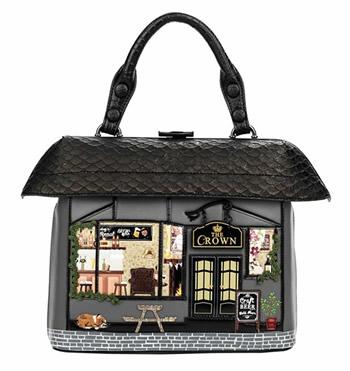 ベンデューラ ロンドン ハンドバッグ ザ・クラウン フロム イングランド 英国 デザイン バッグ イギリス Vendula London The Crown Grab Bag【送料無料】