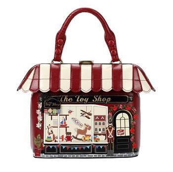 ベンデューラ ロンドン ハンドバッグ トイ ショップ フロム イングランド 英国 デザイン バッグ イギリス Vendula London Toy Shop Grab Bag【送料無料】