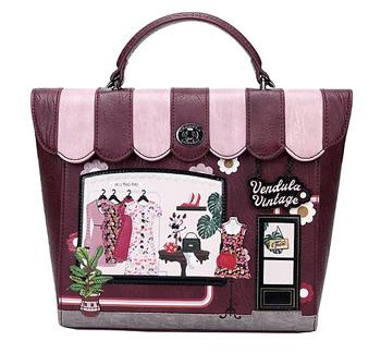 ザ・ヴィンテージショップベンデューラ ロンドン バックパック 英国スタイル 女性用デザイナーバッグ イギリス Vendula London The Vintage Shop Backpack【送料無料】
