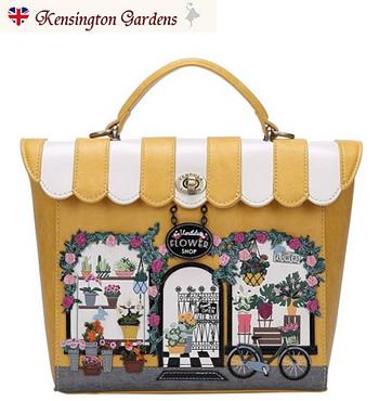 ザ・フラワーショップベンデューラ ロンドン バックパック 英国スタイル 女性用デザイナーバッグ イギリス Vendula London Flower Shop Backpack【送料無料】