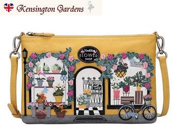 ザ・フワラーショップベンデューラ ロンドン パウチバッグ 英国スタイル 女性用デザイナーバッグ イギリス Vendula London Flower Shop Pouch Bag【送料無料】