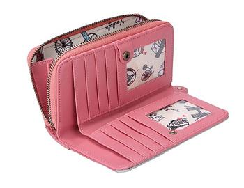 ベンデューラ ロンドン ザ・キャットカフェジップアラウンド ウォレット 中 女性用財布 レディース かわいい ブランド フロムyb7gf6
