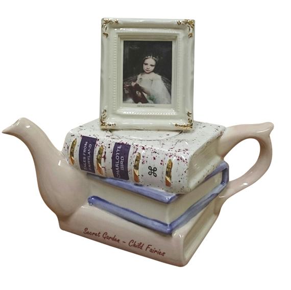 シャーロット バード フェアリー オブ ジェントルネス  ティーポット 中 インテリア イギリス製 英国 置物 ギフト コレクション