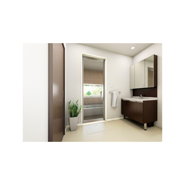 城東テクノ 樹脂製ドア枠 SP-8005-WT 三方枠L字タイプ ホワイト色 3枚引戸用 UB枠