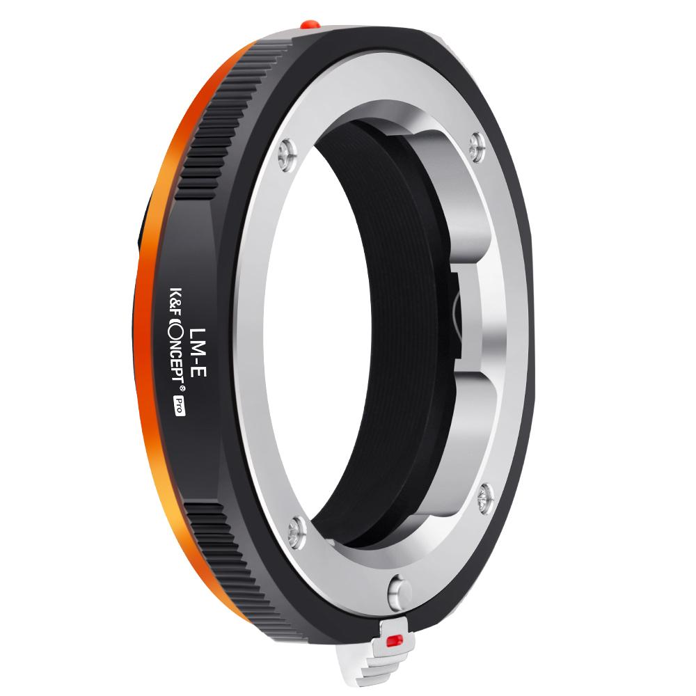 5倍ポイント 未使用 KF Conceptマウントアダプター Leica Mレンズ- Sony Nex 無限遠実現 メーカー直営店 艶消し仕上げ Eカメラ 反射防止 卓抜 PRO