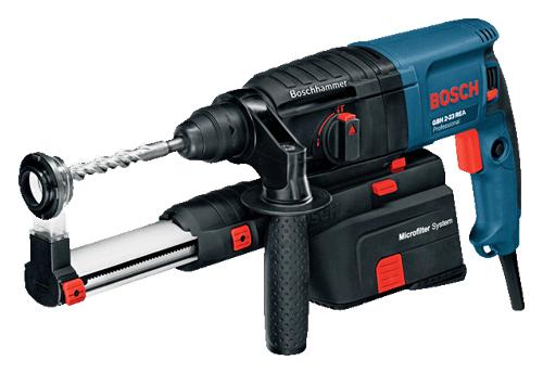 【BOSCHセール!!】ボッシュ電動工具 23mm吸じんハンマードリル(SDSプラス) GBH2-23REA