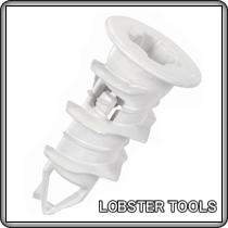 トミカチョウ ロブスター ロブテックス エビモンゴジプサムアンカーGA25 石膏ボード用(100本入)×10箱:ケンチクボーイ-DIY・工具
