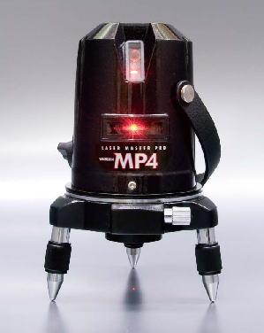 爆買い! PRO MP4-W(受光器+三脚付):ケンチクボーイ 山真 ヤマシン レーザー墨出し器 LASER MASTER-DIY・工具