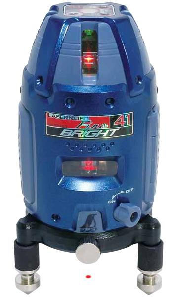 シンワ測定 レーザー墨出し器 レーザーロボFine41 BRIGHT 77467【受光器・三脚は別売】