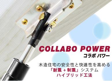 耐震用オイルダンパーシステム コラボパワー