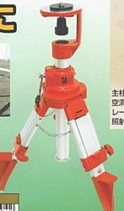 シンワ測定 ハンドル式エレベーター三脚(スライド式短脚型) 77304