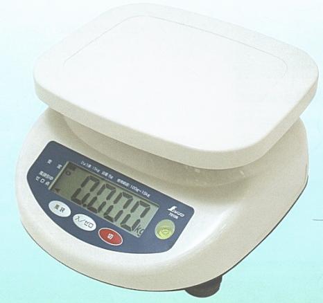 シンワ測定 防水型デジタル上皿はかり 3kg 70104