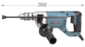 マキタ電動工具 低速用ドリル(鉄工13mm/木工38mm) 6304LR(逆転付)