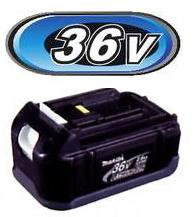 マキタ電動工具 36Vリチウムイオンバッテリー【2.6Ahタイプ】 BL3626 A-49965
