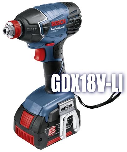 ボッシュ電動工具 18V充電式インパクトドライバー【2in1タイプ】 GDX18V-LI
