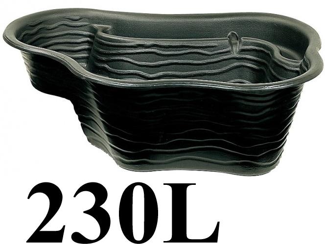 タカショーエクステリア 成型池【230L】カルミューズ KAM-3【※代金引換便はご利用になれません】