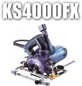 マキタ電動工具 100mm防じんマルノコ KS4000FX(チップソー付)【集塵機接続専用】