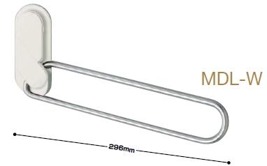川口技研 ホスクリーン室内用物干し 額縁用 MDL型(ロングアーム・左右一組) MDL-W(ホワイト) お買い得20セット(左右一組×20組)