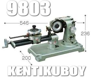 マキタ電動工具 チップソー研磨機 9803(乾式ダイヤモンドホイール付)