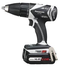 パナソニック電動工具 14.4V振動ドリルドライバー EZ7940LS2S-H(グレー)【LS電池4.2Ah搭載】