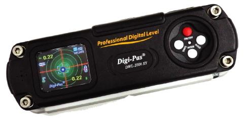 アカツキ 精密デジタル水準器(振動計内蔵型) DWL-2000XY ※PCソフトウェアは別売