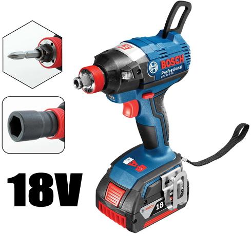 ボッシュ電動工具 18V充電式インパクトドライバー【2in1タイプ】 GDX18V-EC
