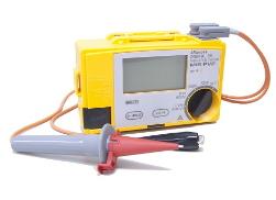 マルチ計測器 太陽電池パネル対応絶縁抵抗計 PVメガー(4レンジ) MIS-PV2