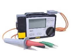 マルチ計測器 太陽電池パネル対応絶縁抵抗計 PVメガー(絶縁劣化箇所判別機能付) MIS-PVS