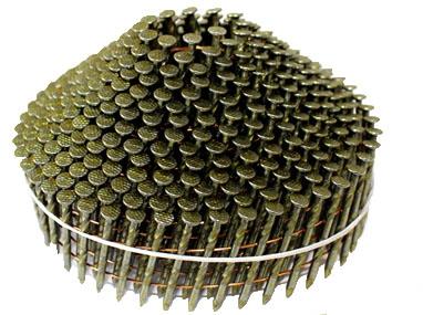 SC ロール釘(斜め釘スクリュー) 2.1mm×32mm タケノコ型 2132NS【1ケース/400本×10巻×4箱】