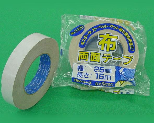 SC スリオンテック 布両面テープ No.5320 50mm幅×15m巻【1ケース/30巻入】