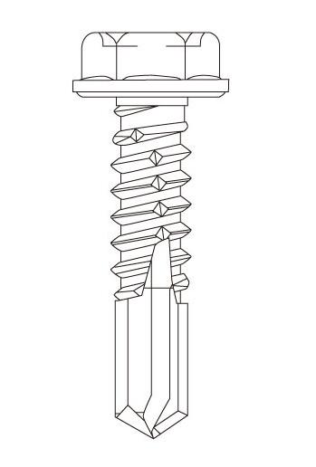SC 410ステンレス フジニッテイ ドリスク 鋼板用ビス ヘックス 410ステンレス ヘックス 鋼板用ビス DH-6025(S) 6×25mm【大箱/250本×10箱】【※メーカー在庫僅少品のため、なくなり次第終了となります】, fujishop:113f523f --- officewill.xsrv.jp