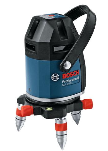 ボッシュ電動工具 レーザー墨出し器 GLL8-40ELR【ケース・受光器付】(三脚なし)