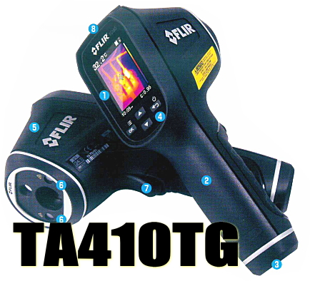 TASCO(タスコ)  サーマルイメージ放射温度計 TA410TG