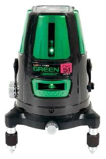 シンワ測定 レーザー墨出し器 レーザーロボグリーンNeo51 BRIGHT 78286【受光器・三脚セット】
