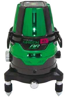 シンワ測定 レーザー墨出し器 レーザーロボグリーンNeo51AR BRIGHT 78279【受光器・三脚は別売】