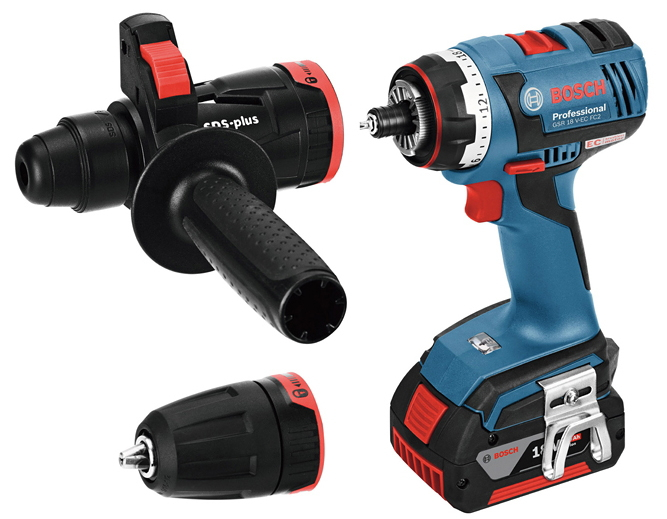 ボッシュ電動工具 18Vバッテリーマルチドライバードリル GSR18V-ECFC2【電池5.0Ah×2個】