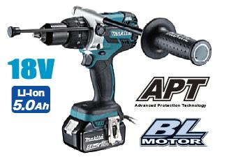 マキタ電動工具 18V充電式振動ドライバードリル HP481DRTX【5.0Ah電池タイプ】