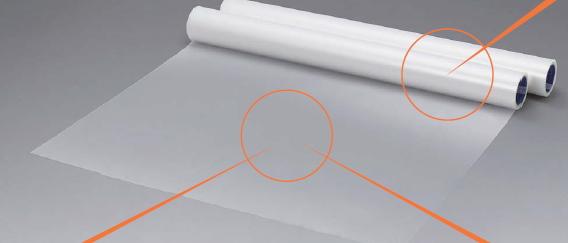 SC 2×4工法用床養生シート 粘着養生シートDX 逆巻 1m幅×30m巻【1ケース/4本入】