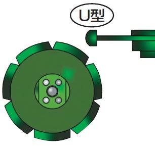 ツボ万 目地切 NEO-88U(88×10×7×M10ネジ) NEO-88×10.0(U) 11076